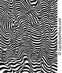 druk, closeup, zebra, tło