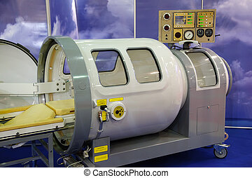 druk, medisch, chamber., uitrusting
