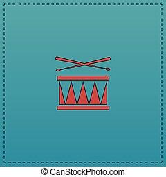 Drum computer symbol