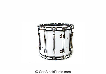 Drum isolated on white background