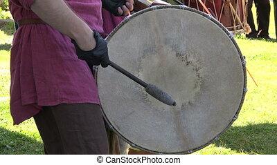 Drum. Percussion instrument. 4K. - Drum. Percussion...