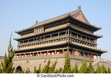 Drum Tower in Xian China