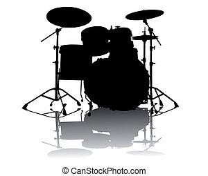 drum-type, 安装
