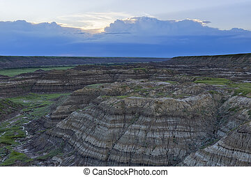 Horsethief Canyon, Alberta