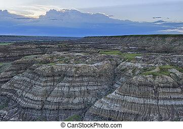 Horsethief Canyon, Alberta