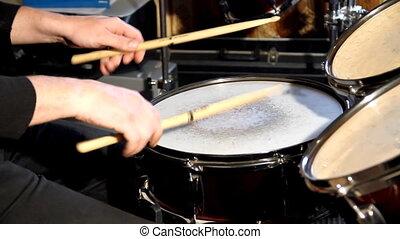 Drummer - Playing drummer