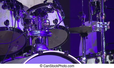 Drummer in a Rock Band