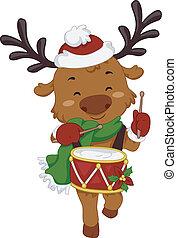 Drummer Reindeer