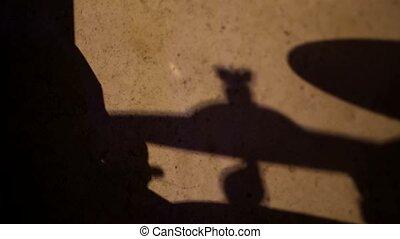 Drummer Shadow