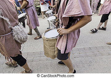 Drumming in the city