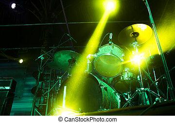 drumms, palcoscenico