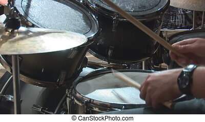 drums 2 - playing  drums
