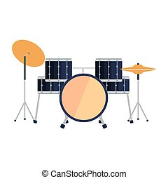drums battery instrument icon