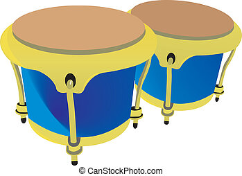 African Conga Drum Clipartby Tribalium1 515 Drums