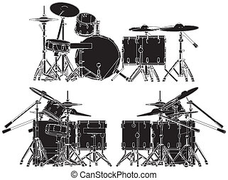 Drums Vector