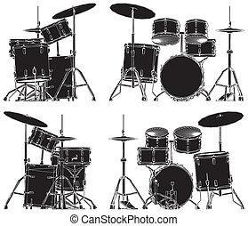 Drums Vector