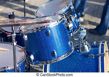 drums with clipping path
