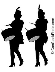 Drums women band
