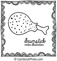 drumstick drawing