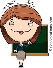 Drunk Cartoon Teacher