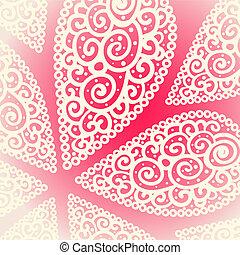 druppels, doodle, vector, achtergrond, twirl