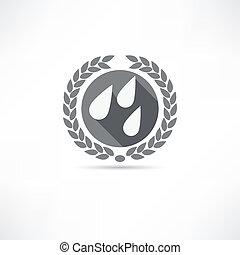 druppels, pictogram