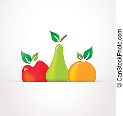 druppels, vers fruit, prese, dauw