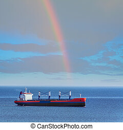 Dry Cargo Ship in the Black Dea