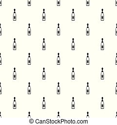 Dry champagne pattern seamless vector