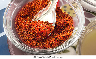 Dry Crushed Chili Grains for Tasty Spicy Meal