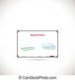 Dry Erase Board Illustration