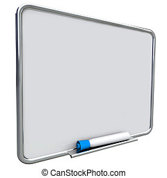 Dry Erase Board Message Blue Pen Marker Communication To Do List