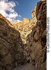 Dry Fall Along Gower Gulch In Death Valley National Park