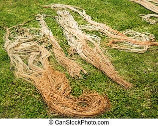 Dry Flax Yarns