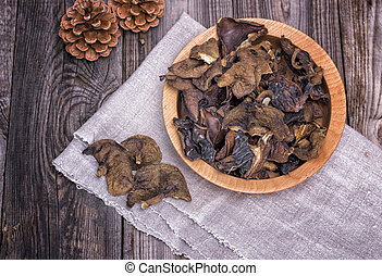 dry forest edible mushrooms