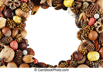 Dry fruit frame