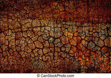 dry ground - grunge background