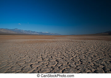 Panamint Range in the Death Valley