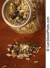 mallow - dry mallow for tisane