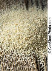 Dry Organic Ground Farina Wheat