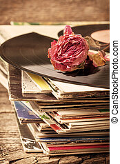 dry rose on old records