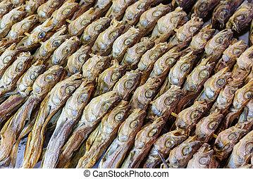 Dry salty fish