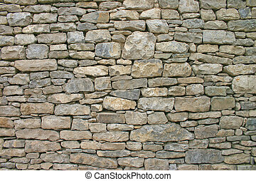 Dry Stone Wall in Cumbria England