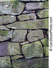 Dry Stone Wall Texture Background
