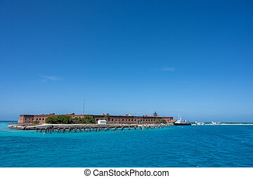 Dry Tortugas National Park Wide Shot