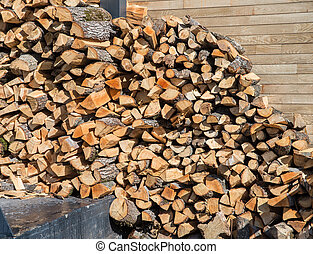 dry wood for the stove