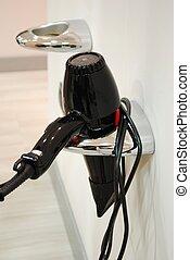 Dryer at hair salon
