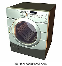 Dryer - 3D Render