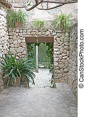 drystone, al aire libre, habitación