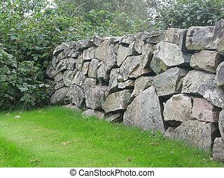 drystone, cerca, tradicional